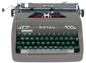 Royal Typewriter photo